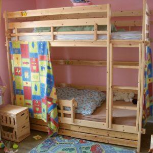 am nager une chambre pour deux enfants les astuces expert immo. Black Bedroom Furniture Sets. Home Design Ideas